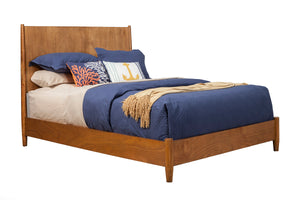 Flynn Panel Bed, Acorn
