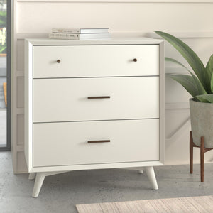 Flynn Small Chest, White