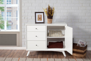 Flynn Accent Cabinet, White