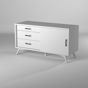 Flynn Small TV Console, White