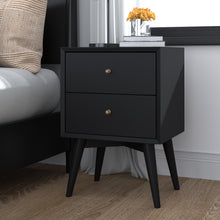 Load image into Gallery viewer, Flynn Nightstand, Black