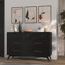 Load image into Gallery viewer, Flynn Dresser, Black