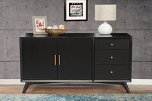 Load image into Gallery viewer, Flynn Sideboard, Black