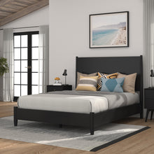 Load image into Gallery viewer, Flynn Panel Bed, Black