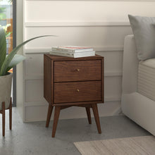 Load image into Gallery viewer, Flynn Nightstand, Walnut