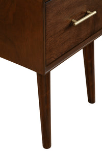 Flynn End Table, Walnut