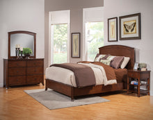 Load image into Gallery viewer, Baker Panel Bed, Mahogany