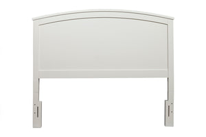 Baker Panel Bed, White