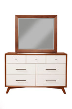Load image into Gallery viewer, Flynn Dresser, Acorn/White