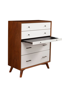 Flynn Chest, Acorn/White