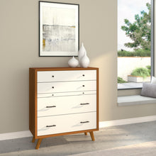 Load image into Gallery viewer, Flynn Chest, Acorn/White