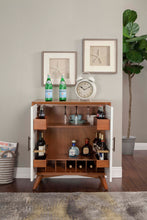 Load image into Gallery viewer, Flynn Small Bar Cabinet, Acorn/White