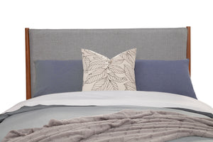 Flynn Panel Bed, Acorn/Grey
