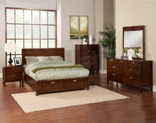 Load image into Gallery viewer, Carmel Storage Bed, Cappuccino