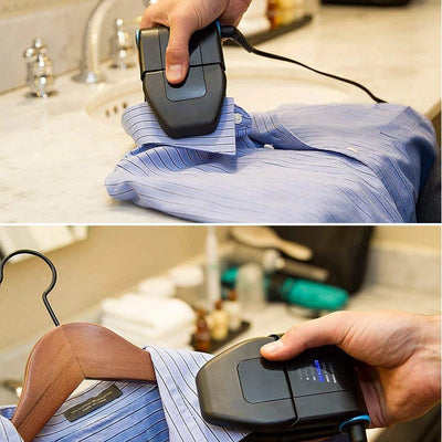 Collar Perfect™ Travel Folding Portable Iron