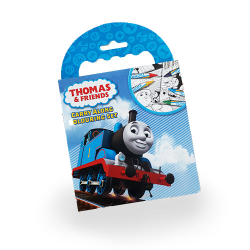 Thomas & Friends Carry Along Colouring Set