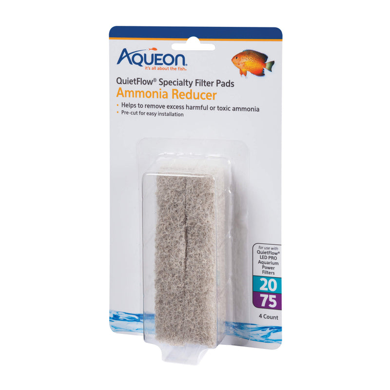Aqueon Replacement Ammonia Reducer Filter Pads 4 pack