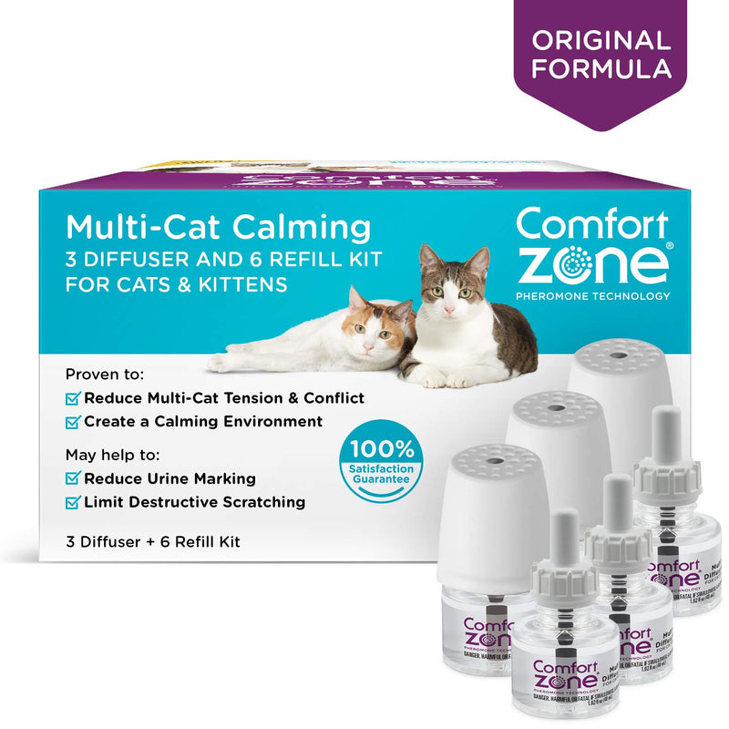 Comfort Zone Cat Multicat Diffuser