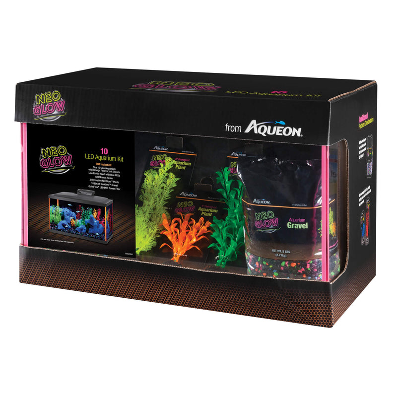 Aqueon NeoGlow LED Aquarium Kit