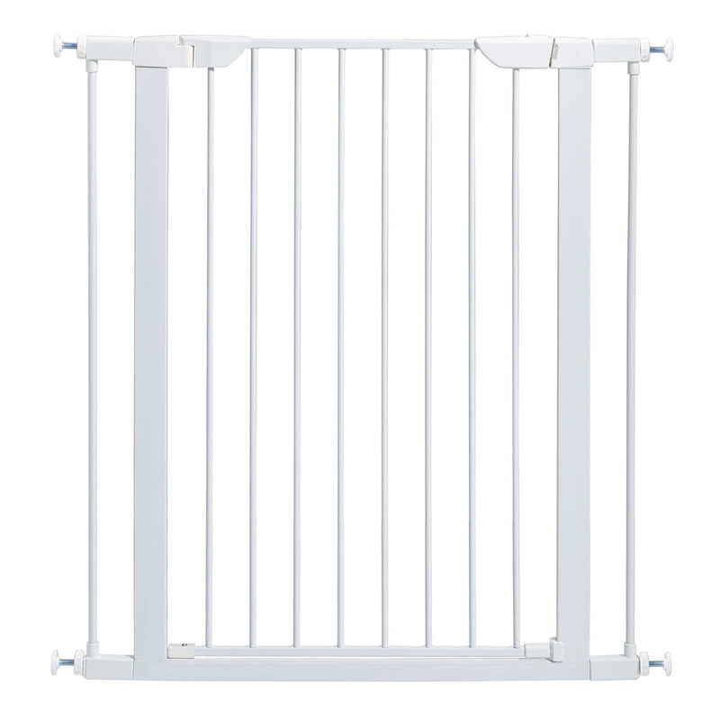 "Midwest Glow in the Dark Steel Pressue Mount Pet Gate Tall 29.5"" "" 38"" x 1"" x 29.88"""
