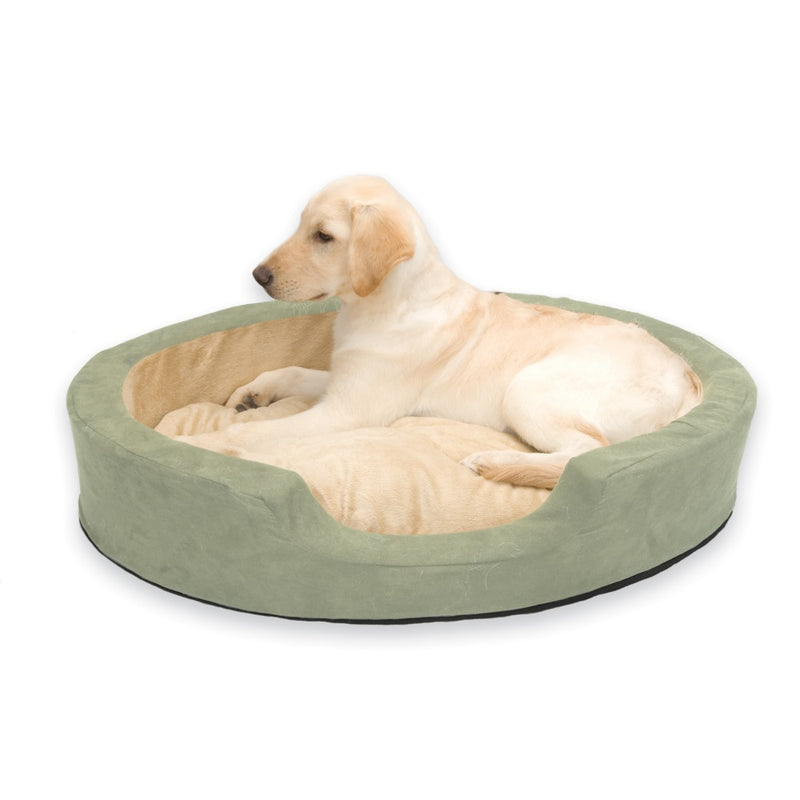 K&H Pet Products Thermo Snuggly Sleeper Oval Pet Bed