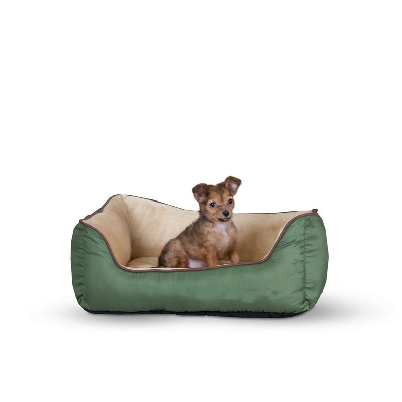 K&H Pet Products Lounge Sleeper Self-Warming Pet Bed