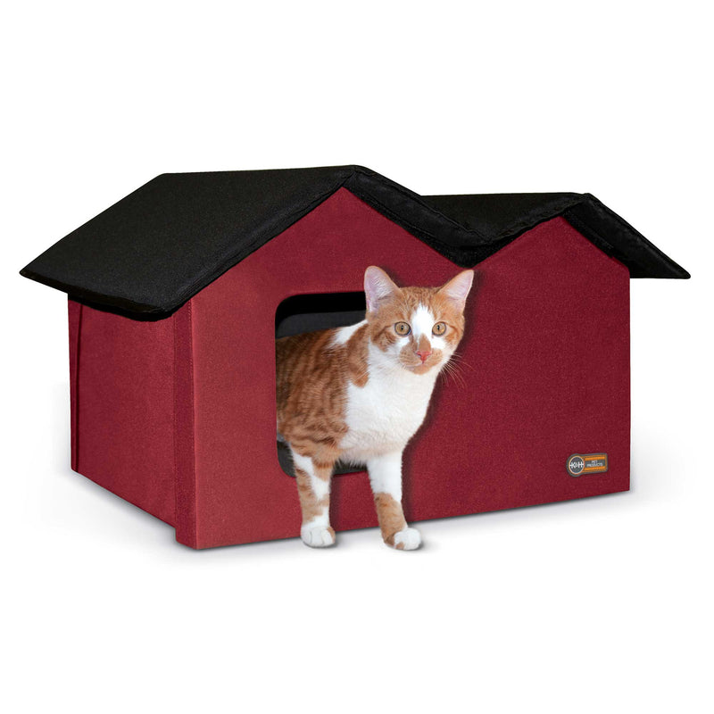 K&H Pet Products Unheated Outdoor Kitty House Extra Wide