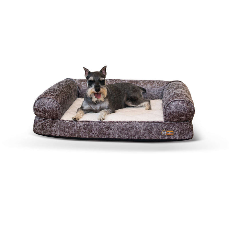 K&H Pet Products Bomber Memory Dog Sofa