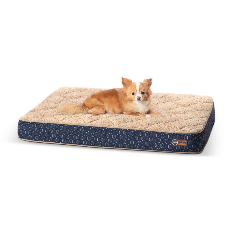 Small Quilt-Top Superior Orthopedic Pet Bed