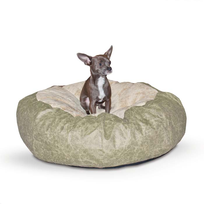 "K&H Pet Products Self Warming Cuddle Ball Pet Bed Medium 38"" x 38"" x 12"""