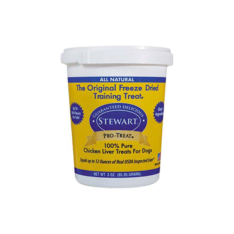 Miracle Corp Stewart Pro-Treat Freeze Dried Chicken Liver