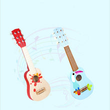 Load image into Gallery viewer, Activity Cube Toys Wooden Guitar Toys for Children Baby Toddler Musical Instruments Sound Toys Learning Activity Toys for Kids Gifts for Toddlers (Color : Red, Size : 9x53.5x17.5cm)