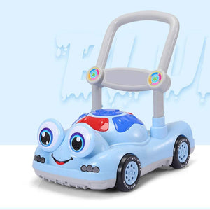 Baby First Steps Activity Walker Children's Walker with Early Education Baby Stroller Anti-Rollover Baby Walking Step Push Pusher Walker Trolley Toys Children Kids Boys and Girls
