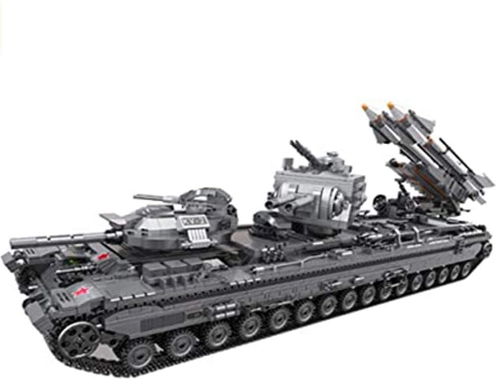 Tank Building Blocks, 3663 Parts Military Building Blocks Tank Construction Toy kit for Children and Adults Compatible