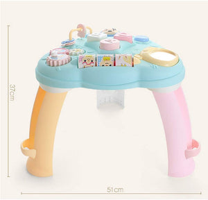 Toddlers, Toy for Boys and Girls Musical Learning Table Music Baby Toys Preschool Educational Games Activity Center Gifts for Kids for Toddler Children Preschool Education