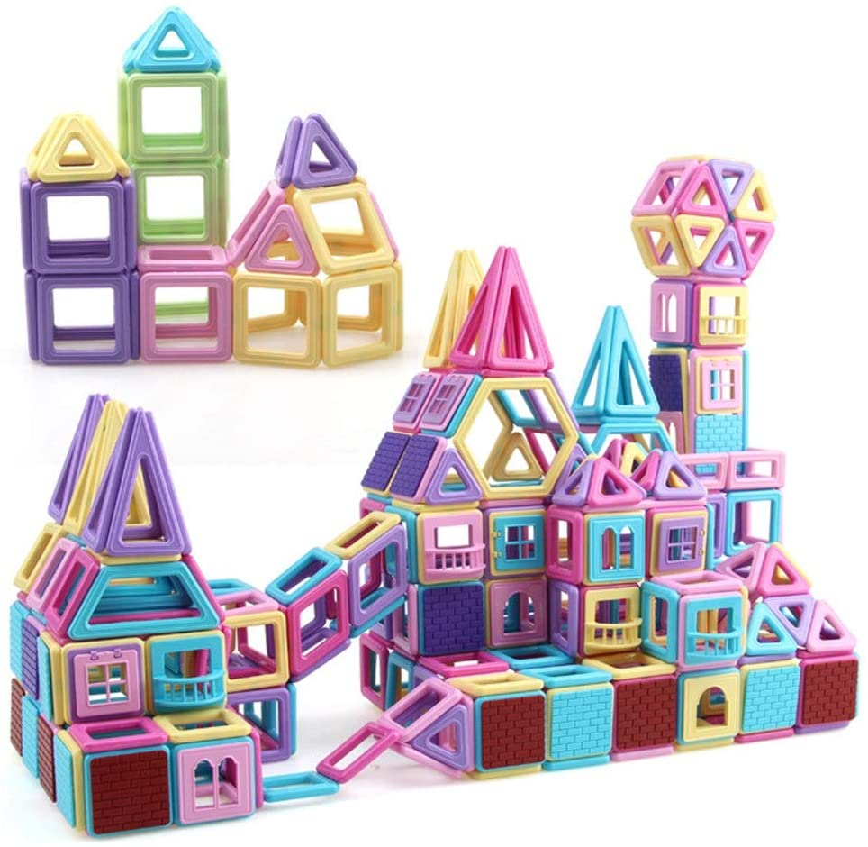 Building Blocks for Kids Building Tiles Set Creativity Toy for Preschool Toddlers Building Blocks Toys 210 PCS Educational Toys for Children (Color : Multi-Colored, Size : 180PCS)