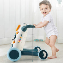 Load image into Gallery viewer, Baby First Steps Activity Walker Music Baby Push Walker with Toy Panel Educational Toddler Step Helper for Kids 8-18 Month Trolley Toys Children Kids Boys and Girls