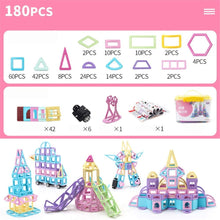 Load image into Gallery viewer, Building Blocks for Kids Building Tiles Set Creativity Toy for Preschool Toddlers Building Blocks Toys 210 PCS Educational Toys for Children (Color : Multi-Colored, Size : 180PCS)