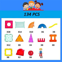 Load image into Gallery viewer, Building Blocks for Kids Building Tiles Set Creativity Toy for Preschool Toddlers Building Blocks Toys 134 PCS Educational Toys for Children (Color : Multi-Colored, Size : 134PCS)