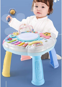 Toddlers, Toy for Boys and Girls Baby Toys Musical Play and Learn Activity Table 6 to 12 Months Early Education Music Activity Center for Kids for Toddler Children Preschool Education