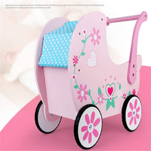 Load image into Gallery viewer, Baby Walker with Wheel Children's Shopping Cart Trolley Walker Toys for 6 Months to 3 Years Old (Color : Pink, Size : 47x42x27CM)