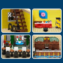 Load image into Gallery viewer, 4030Pcs Corner Post Office MOC Building Block Assembled Stem Toy with Light Compatible with Majoz Brands