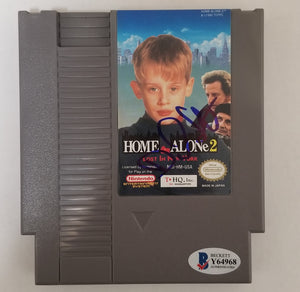 Daniel Stern - Signed Home Alone 2 Nintendo Video Game