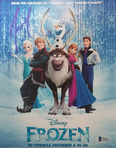 Josh Gad - Signed Olaf Frozen 8x10 Photo #5