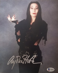 Anjelica Huston - Signed 8x10 Morticia Addams Photo