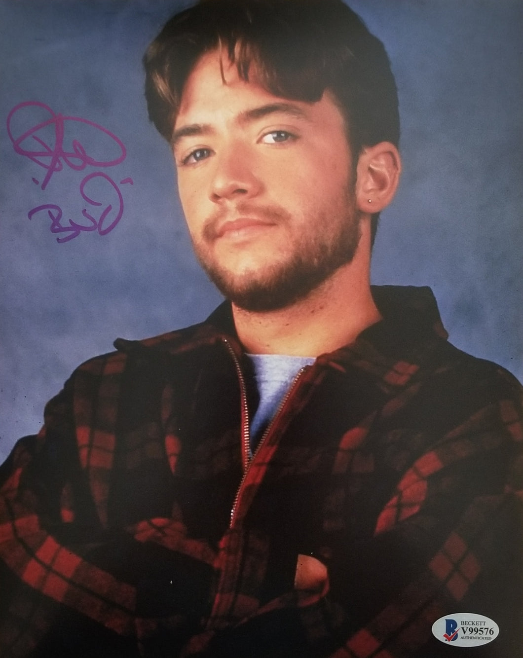David Faustino - Signed Bud Bundy 8x10 Photo #2