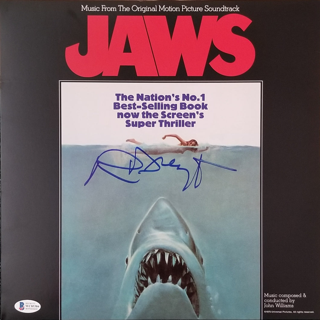 Richard Dreyfuss - Signed JAWS Album