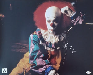 Tim Curry - Signed Pennywise Image #2 16x20 Poster