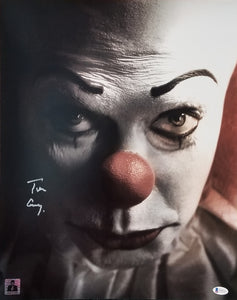 Tim Curry - Signed Pennywise Image #1 16x20 Poster
