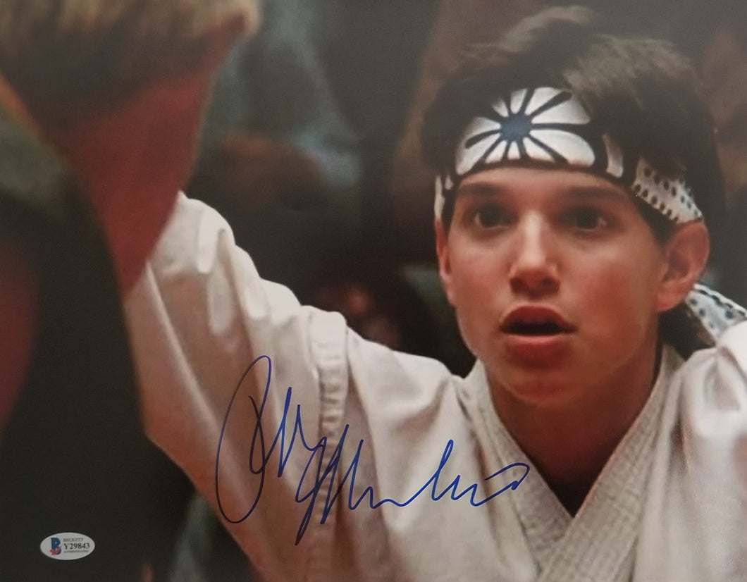 Ralph Macchio - Signed Karate Kid 11x14 Photo